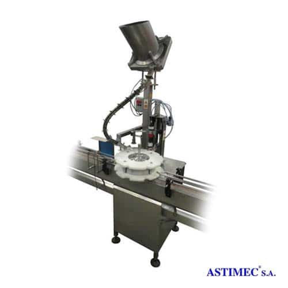 Coronadora Automática con Alimentador ASA-TARB 40 Astimec soluciones industriales Quito Ecuador América