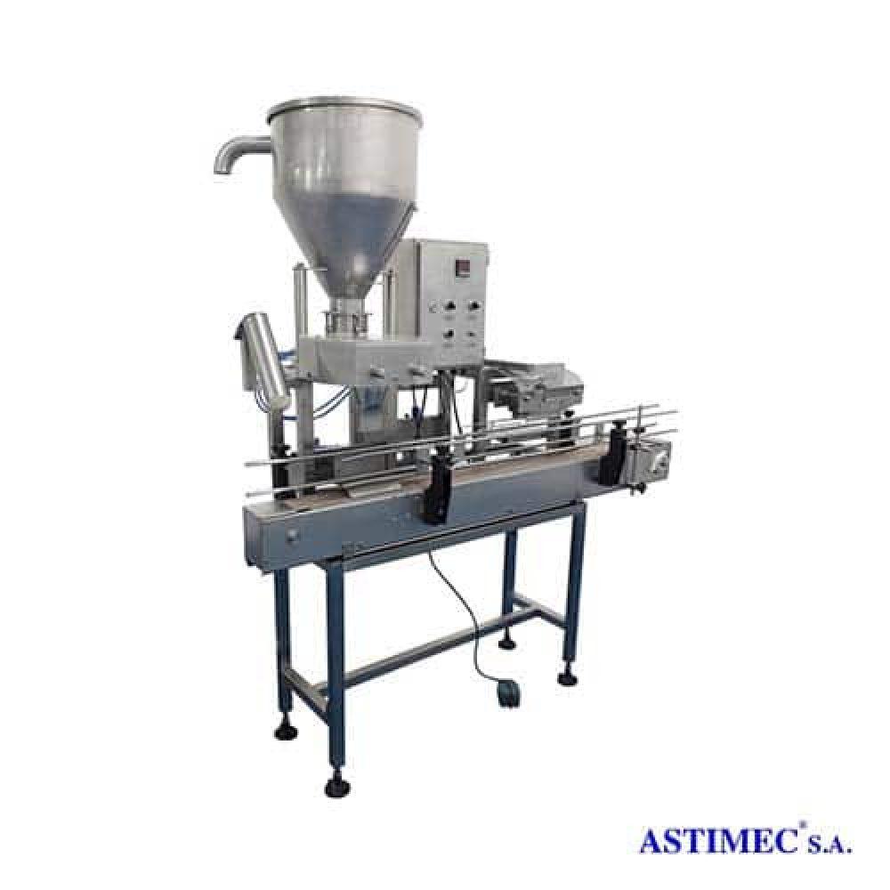 Dosificador Sellador con Transportador ASA DST-10 Astimec soluciones industriales Quito Ecuador América